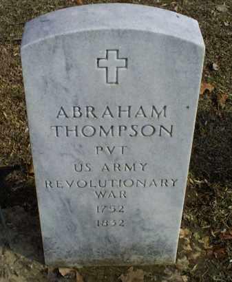 THOMPSON, ABRAHAM - Ross County, Ohio | ABRAHAM THOMPSON - Ohio Gravestone Photos