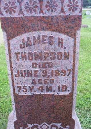 THOMPSON, JAMES H. - Ross County, Ohio | JAMES H. THOMPSON - Ohio Gravestone Photos
