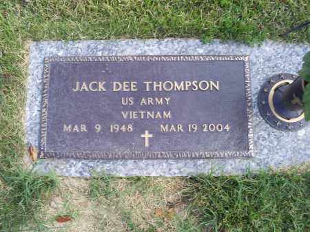 THOMPSON, JACK DEE - Ross County, Ohio | JACK DEE THOMPSON - Ohio Gravestone Photos