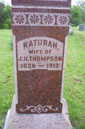 THOMPSON, KATURAH - Ross County, Ohio | KATURAH THOMPSON - Ohio Gravestone Photos