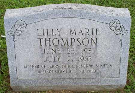 THOMPSON, LILLY MARIE - Ross County, Ohio | LILLY MARIE THOMPSON - Ohio Gravestone Photos