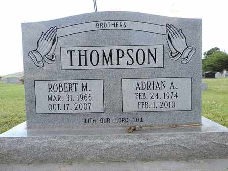 THOMPSON, ROBERT M. - Ross County, Ohio | ROBERT M. THOMPSON - Ohio Gravestone Photos