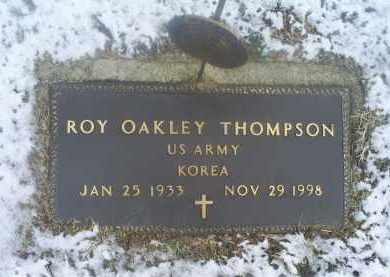 THOMPSON, ROY OAKLEY - Ross County, Ohio | ROY OAKLEY THOMPSON - Ohio Gravestone Photos