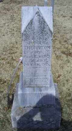 THORNTON, JOHN E. - Ross County, Ohio | JOHN E. THORNTON - Ohio Gravestone Photos