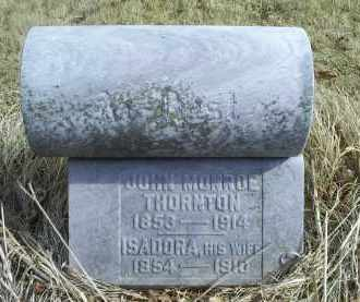 THORNTON, JOHN MONROE - Ross County, Ohio | JOHN MONROE THORNTON - Ohio Gravestone Photos