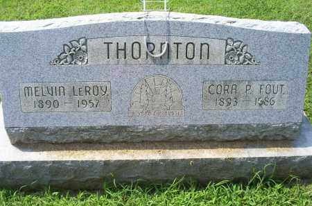 THORNTON, CORA P. - Ross County, Ohio | CORA P. THORNTON - Ohio Gravestone Photos