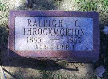 THROCKMORTON, RALEIGH C. - Ross County, Ohio | RALEIGH C. THROCKMORTON - Ohio Gravestone Photos