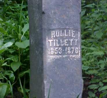 TILLETT, ROLLIE - Ross County, Ohio | ROLLIE TILLETT - Ohio Gravestone Photos