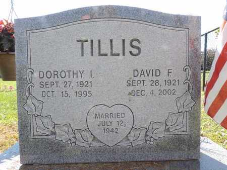 TILLIS, DAVID F. - Ross County, Ohio | DAVID F. TILLIS - Ohio Gravestone Photos