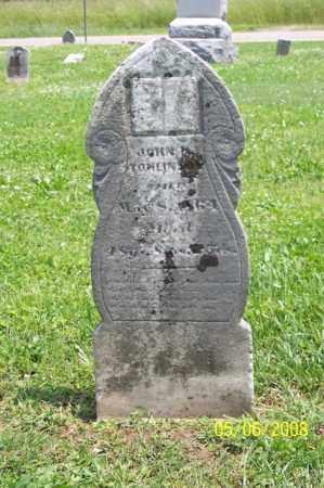 TOMLINSON, JOHN N. - Ross County, Ohio | JOHN N. TOMLINSON - Ohio Gravestone Photos