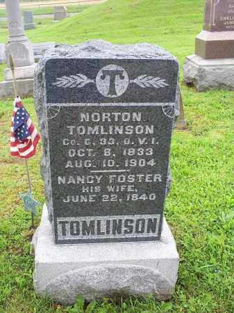 TOMLINSON, NANCY - Ross County, Ohio | NANCY TOMLINSON - Ohio Gravestone Photos