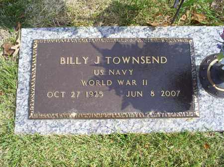 TOWNSEND, BILLY J. - Ross County, Ohio | BILLY J. TOWNSEND - Ohio Gravestone Photos