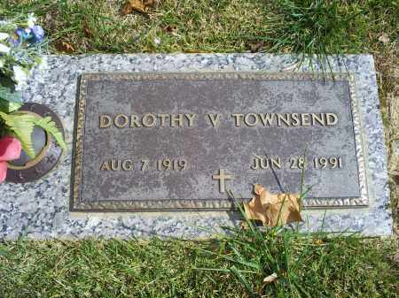 TOWNSEND, DOROTHY V. - Ross County, Ohio | DOROTHY V. TOWNSEND - Ohio Gravestone Photos
