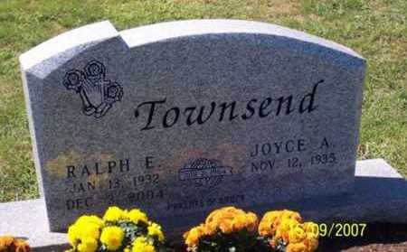 TOWNSEND, RALPH E. - Ross County, Ohio | RALPH E. TOWNSEND - Ohio Gravestone Photos
