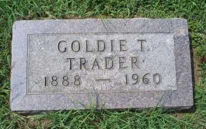 TRADER, GOLDIE T. - Ross County, Ohio | GOLDIE T. TRADER - Ohio Gravestone Photos