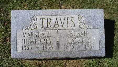 HACKLEY TRAVIS, SUSAN - Ross County, Ohio | SUSAN HACKLEY TRAVIS - Ohio Gravestone Photos