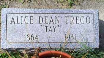 "TREGO, ALICE DEAN ""TAY"" - Ross County, Ohio 