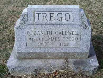 TREGO, ELIZABETH - Ross County, Ohio | ELIZABETH TREGO - Ohio Gravestone Photos