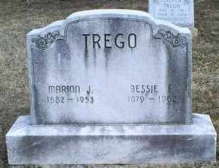 TREGO, BESSIE E. - Ross County, Ohio | BESSIE E. TREGO - Ohio Gravestone Photos