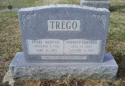 MENEAR TREGO, PEARL - Ross County, Ohio | PEARL MENEAR TREGO - Ohio Gravestone Photos
