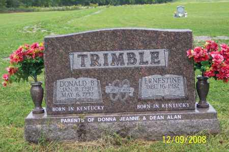 TRIMBLE, DONALD B - Ross County, Ohio | DONALD B TRIMBLE - Ohio Gravestone Photos