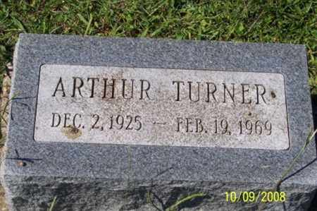 TURNER, ARTHUR - Ross County, Ohio | ARTHUR TURNER - Ohio Gravestone Photos