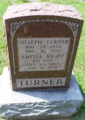 KNAPP TURNER, AMELIA - Ross County, Ohio | AMELIA KNAPP TURNER - Ohio Gravestone Photos