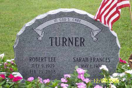 TURNER, ROBERT  LEE - Ross County, Ohio | ROBERT  LEE TURNER - Ohio Gravestone Photos