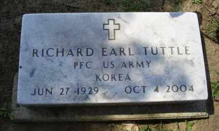 TUTTLE, RICHARD EARL - Ross County, Ohio | RICHARD EARL TUTTLE - Ohio Gravestone Photos