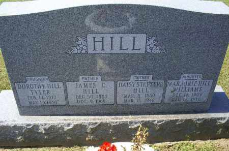 HILL, JAMES C. - Ross County, Ohio | JAMES C. HILL - Ohio Gravestone Photos