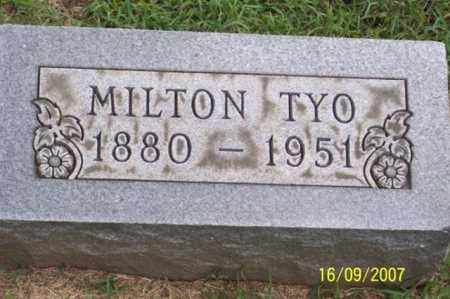TYO, MILTON - Ross County, Ohio | MILTON TYO - Ohio Gravestone Photos
