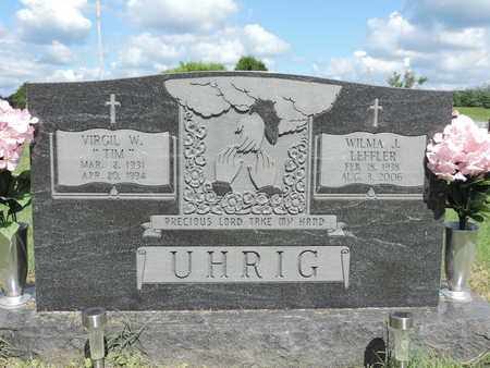UHRIG, WILMA J. - Ross County, Ohio | WILMA J. UHRIG - Ohio Gravestone Photos