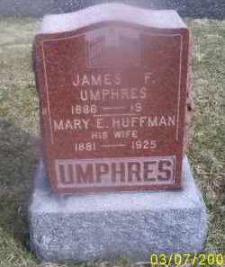 UMPHRES, JAMES F. - Ross County, Ohio | JAMES F. UMPHRES - Ohio Gravestone Photos