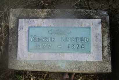 UMSTED, MESSIE - Ross County, Ohio   MESSIE UMSTED - Ohio Gravestone Photos