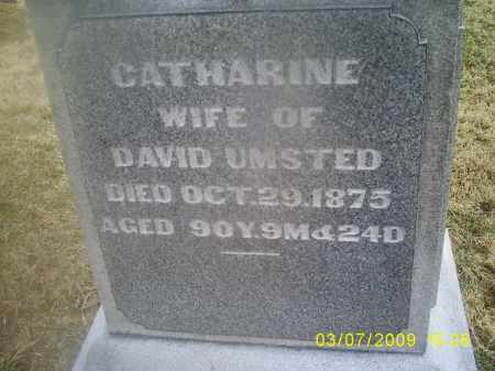 UNSTED, CATHARINE - Ross County, Ohio | CATHARINE UNSTED - Ohio Gravestone Photos