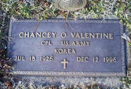 VALENTINE, CHANCEY O. - Ross County, Ohio | CHANCEY O. VALENTINE - Ohio Gravestone Photos