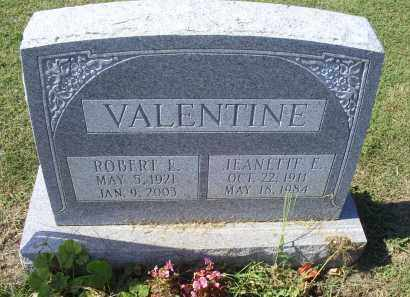 VALENTINE, ROBERT L. - Ross County, Ohio | ROBERT L. VALENTINE - Ohio Gravestone Photos