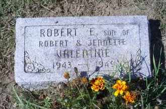 VALENTINE, ROBERT E. - Ross County, Ohio | ROBERT E. VALENTINE - Ohio Gravestone Photos