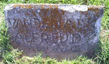 VANDEMARK, ALFREDD - Ross County, Ohio | ALFREDD VANDEMARK - Ohio Gravestone Photos