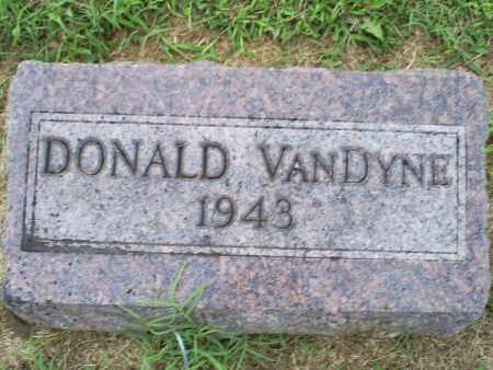 VANDYNE, DONALD - Ross County, Ohio | DONALD VANDYNE - Ohio Gravestone Photos