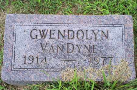 VANDYNE, GWENDOLYN - Ross County, Ohio | GWENDOLYN VANDYNE - Ohio Gravestone Photos