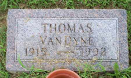 VANDYNE, THOMAS - Ross County, Ohio | THOMAS VANDYNE - Ohio Gravestone Photos