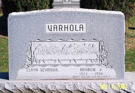 VARHOLA, ANDREW J. - Ross County, Ohio | ANDREW J. VARHOLA - Ohio Gravestone Photos