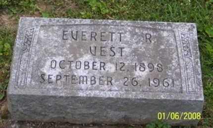 VEST, EVERETT R. - Ross County, Ohio | EVERETT R. VEST - Ohio Gravestone Photos
