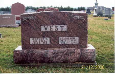 VEST, S. CATHARINE A. - Ross County, Ohio | S. CATHARINE A. VEST - Ohio Gravestone Photos