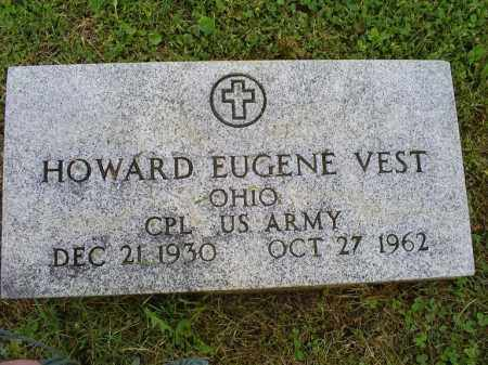 VEST, HOWARD EUGENE - Ross County, Ohio | HOWARD EUGENE VEST - Ohio Gravestone Photos