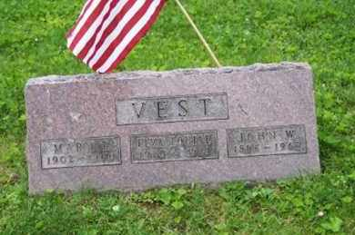 VEST, JOHN W. - Ross County, Ohio | JOHN W. VEST - Ohio Gravestone Photos