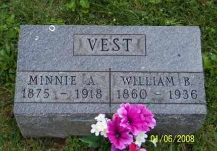 VEST, WILLIAM B. - Ross County, Ohio | WILLIAM B. VEST - Ohio Gravestone Photos