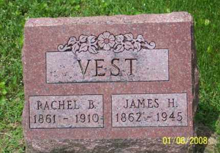 VEST, JAMES H. - Ross County, Ohio | JAMES H. VEST - Ohio Gravestone Photos