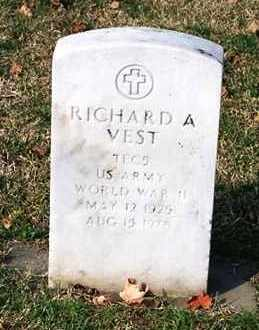 VEST, RICHARD A. - Ross County, Ohio | RICHARD A. VEST - Ohio Gravestone Photos